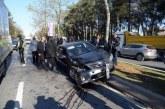 TC Cumhurbaşkanı Erdoğan'ın konvoyunda kaza