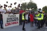 Mağusa'da protesto yürüyüşü