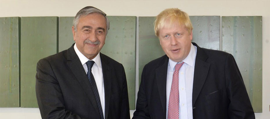 Photo of Akıncı, Johnson ile görüşecek