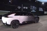 Dünyanın en hızlı elektrikli otomobili Faraday Future FF91