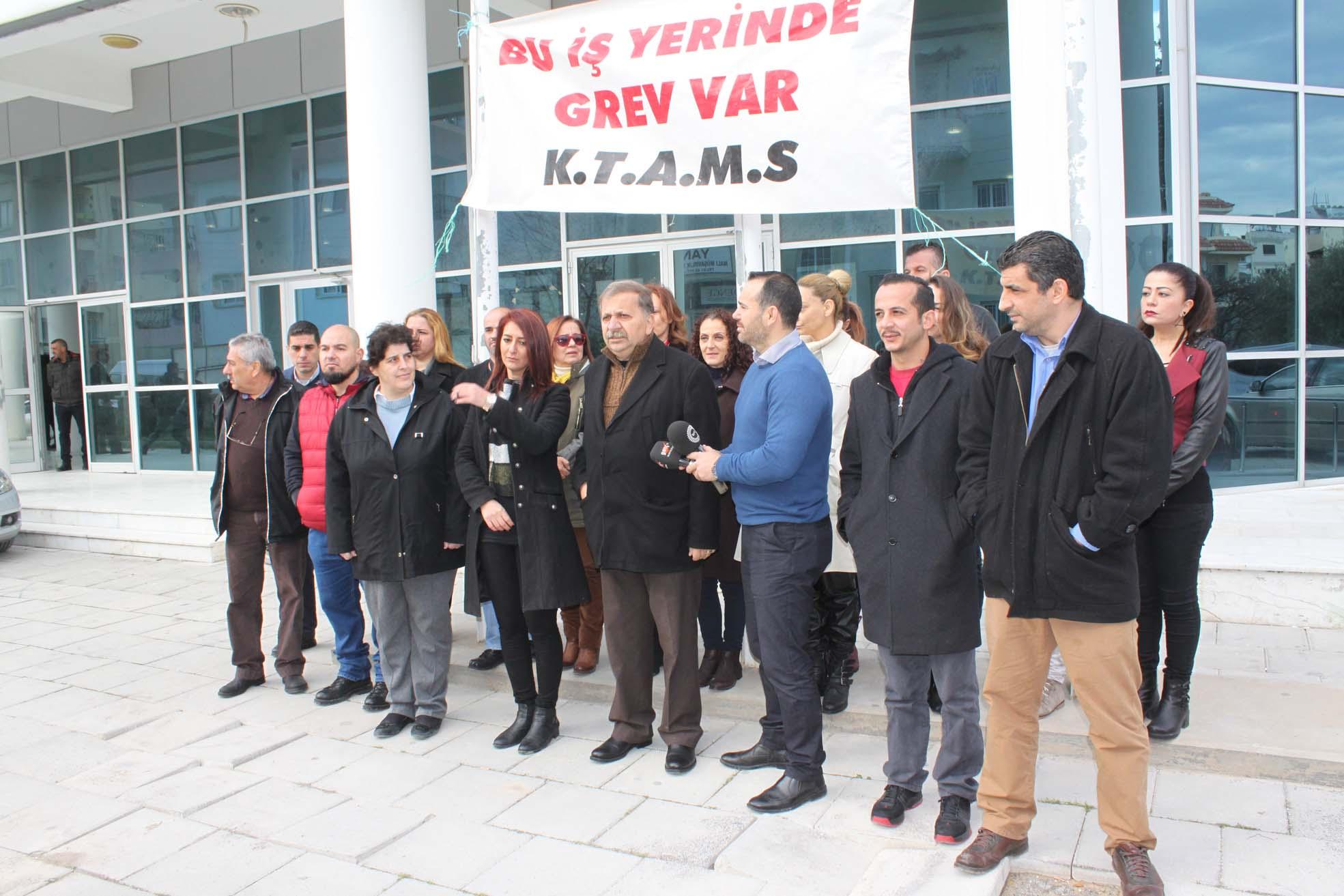 Photo of KTAMS, süresiz grev başlattı