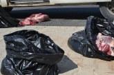 1 yılda 3 bin 500  Kilo kaçak et