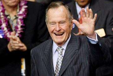 Eski ABD başkanı Bush hastaneye kaldırıldı