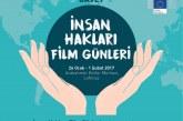 Avrupa Komisyonu'ndan İnsan Hakları Film Günleri Başlıyor