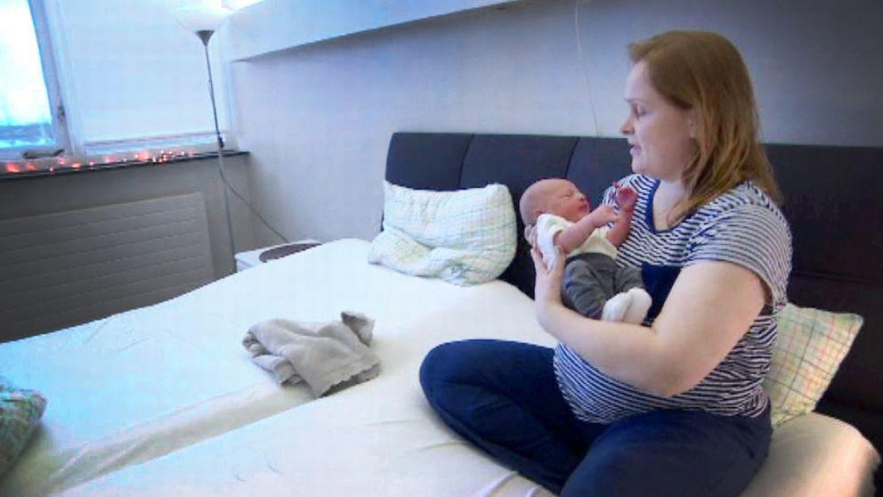 Photo of İzlanda'da 1980'in ilk bebeği 2017'nin ilk annesi oldu