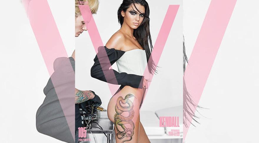 Photo of Kendall Jenner dövmelendi!