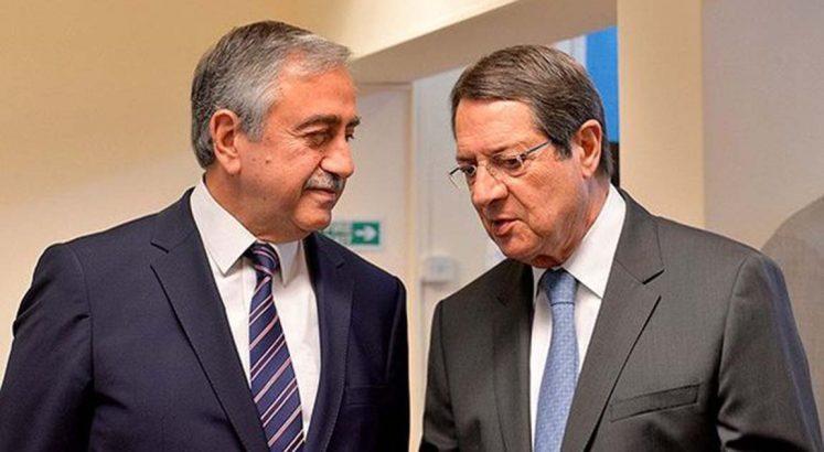 Mustafa Akıncı Nikos Anastasiadis
