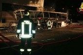 İtalya'da öğrenciler yanarak can verdi
