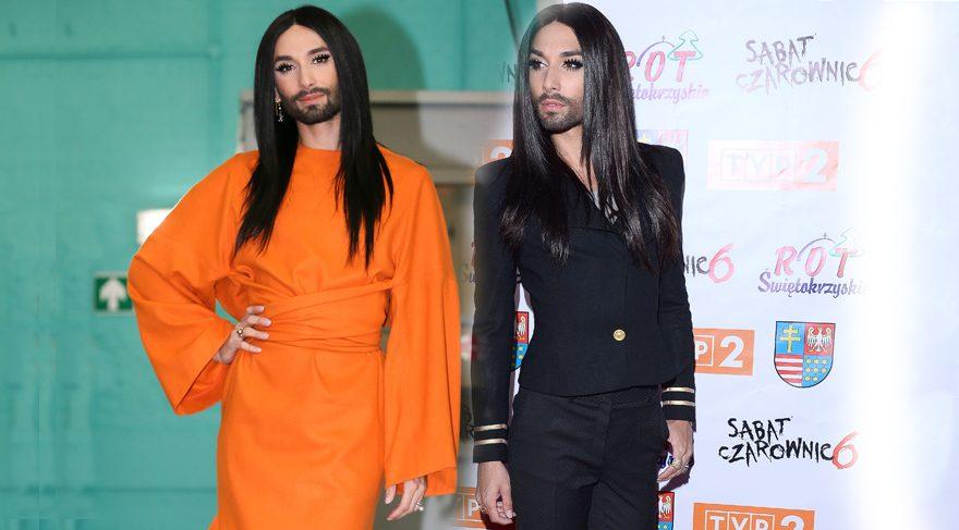 Conchita Wurst sakallı kadın