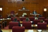 Mecliste hastane tartışması