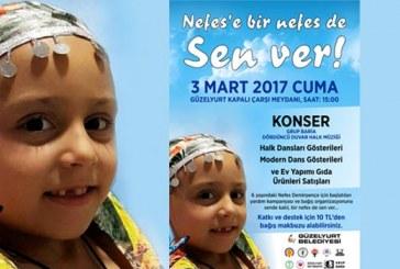 Güzelyurt Belediyesi Nefes için yardım kampanyası naşlattı