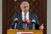 Akıncı açıklama yaptı: Sabrı tükenen Kıbrıs Türk tarafıdır