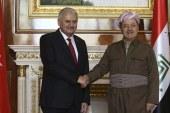 Almanya'da, Yıldırım-Barzani görüşmesi