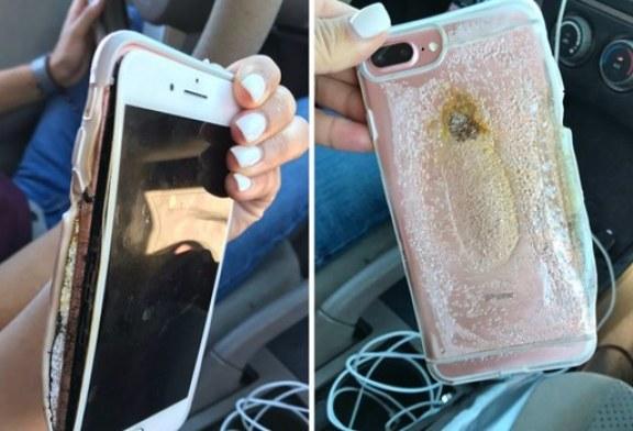 """""""iPhone 7 Plus alev aldı"""" iddiası"""