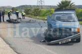 Çayırova- Bafra arasında feci kaza: 1 ağır yaralı