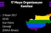 """Kuir Kıbrıs'tan """"17 Mayıs Organizasyon Komitesi""""ne katılım çağrısı"""