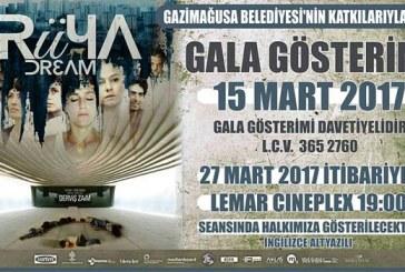 Derviş Zaim'in 'Rüya' filminin galası Gazimağusa'da