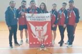 Badmintonda GAÜ  Türkiye Şampiyonu