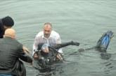 Boğulma tehlikesi geçiren kadın dalgıcı belediye başkanı kurtardı