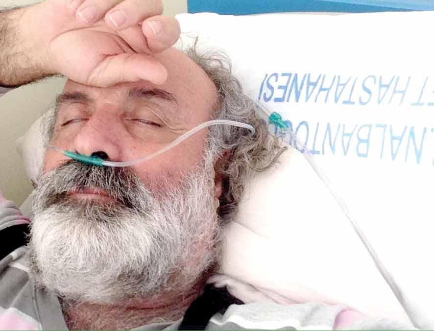 Photo of Hasan Pala hastanelik oldu