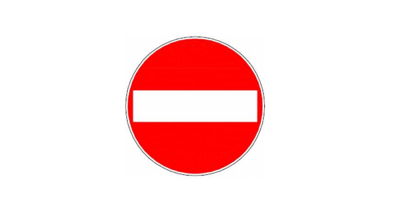 Dikkat! Girne'de trafiğe kapalı yol