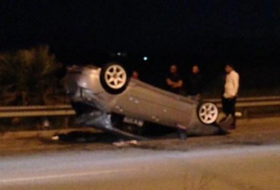Girne yolunda kaza! 1 yaralı