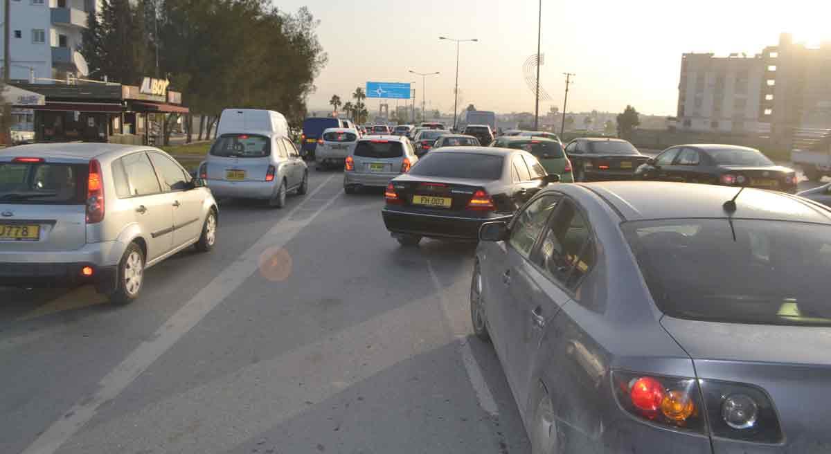 lefkoşa trafik