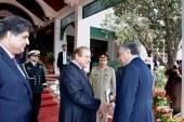 Akıncı, Pakistan Başbakanı ile görüştü