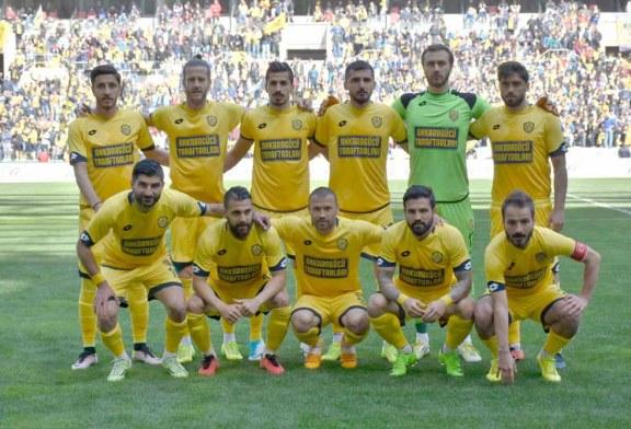 Kenan Özer'li  Ankaragücü 1.Lig'de