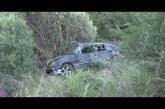 Girne-Lefkoşa yolunda kaza ucuz atlatıldı