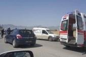 Lefkoşa'da motor kazası! 1 yaralı…