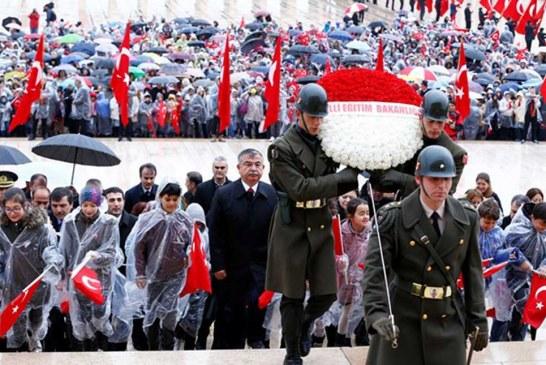23 Nisan için ilk tören Anıtkabir'de