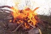 1 Mayıs'tan itibaren ateş yakmak yasak!