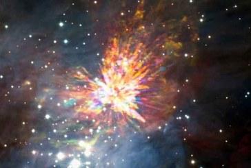 İki yıldızın şiddetli çarpışması kaydedildi