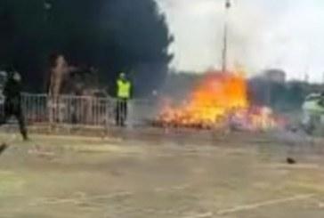 Paris'te patlama: 3'ü ağır, 20 yaralı
