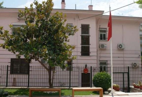 Yunanistan'da Türkiye Konsolosluğu'na saldırı