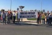 Halkın Partisi hükümeti protesto etti