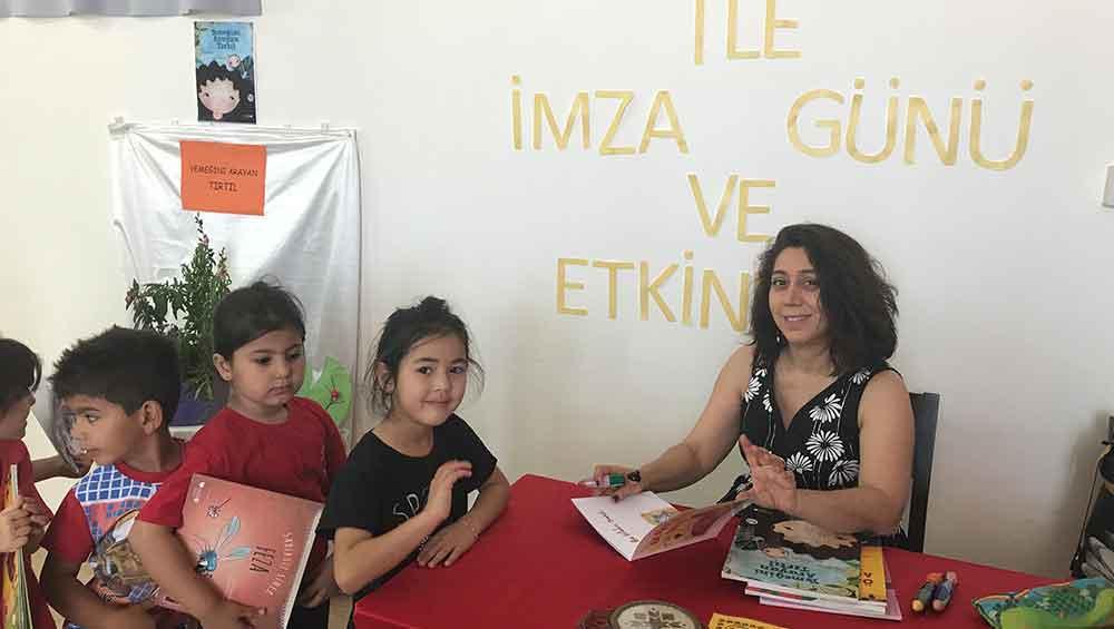 Gaziköy'den yazar Tülin Kozikoğlu geçti