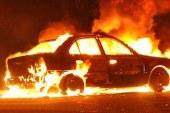 Limasol'da, yanan arabada ceset bulundu!