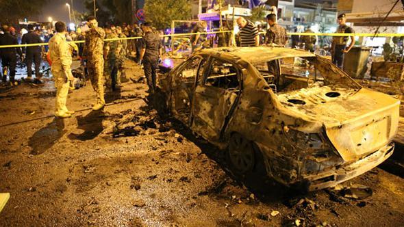 Photo of Bağdat'ta bombalı saldırı!