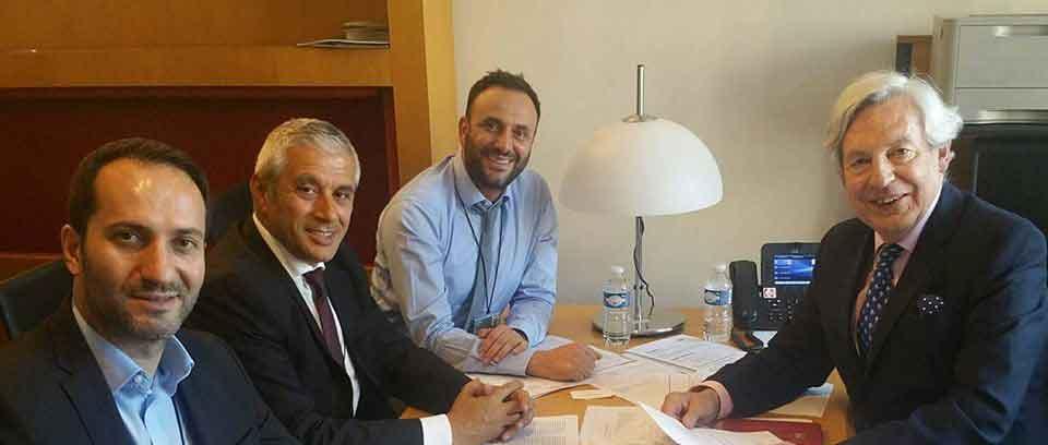 Kıbrıs müzakereleri konuşuldu