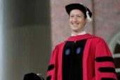 Zuckerberg hukuk doktoru oldu