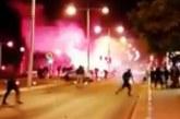 Limasol'da taraftarlar arasında çatışma!