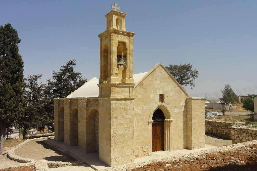 Agia Marina Kilisesi koruma çalışmaları tamamlandı