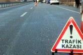 Dipkarpaz'da trafik kazası