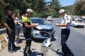 Ciklos'ta trafik kazası