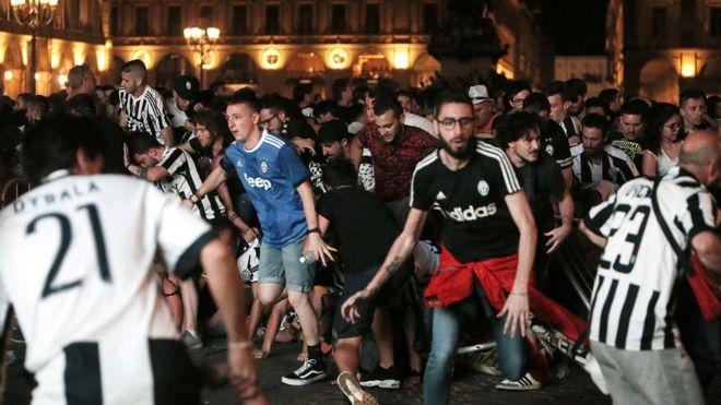 Photo of Torino'daki izdihamda yaralanan kadın öldü
