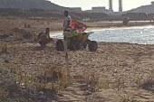 Alagadi'de kaplumbağa katliamı