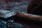 Karaoğlanoğlu'nda kürekli baltalı kavga