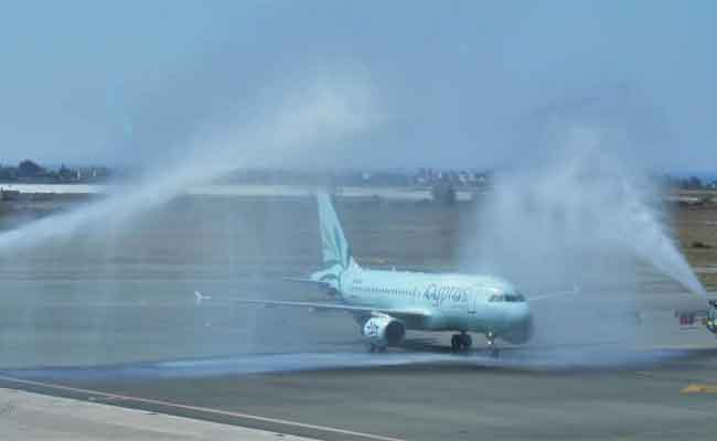 Photo of Cyprus Airways ilk Uçuşunu Yaptı